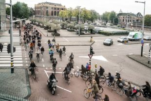 We gaan de fietsvriendelijke kruispunten in Amsterdam onderzoeken