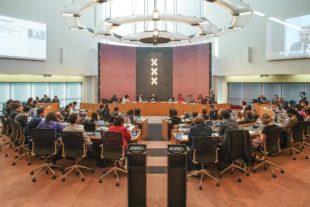 Raadvergadering in Amsterdam